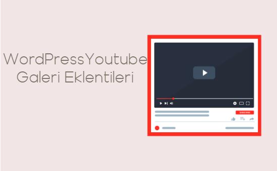 En İyi 9 WordPress Youtube Galeri Eklentisi