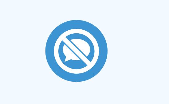 WordPress'te Yorumları Devre Dışı Bırakma