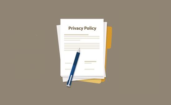 WordPress'e Gizlilik Politikası Nasıl Eklenir ?